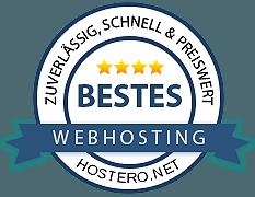 bestes webhosting auszeichnung