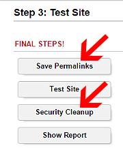Wordpress Seite testen