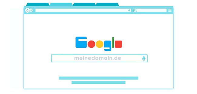 Auch die Domain ist beim Webhosting wichtig