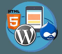 Verschiedene Webseiten Software im Überblick