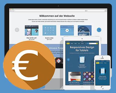 Die Kosten einer Webseite.