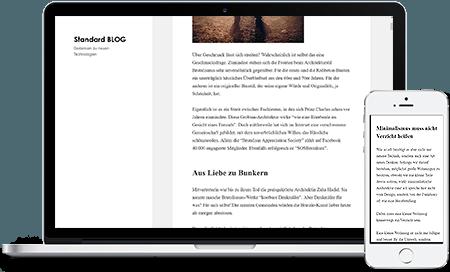 Wordpress direkt nach der Installation
