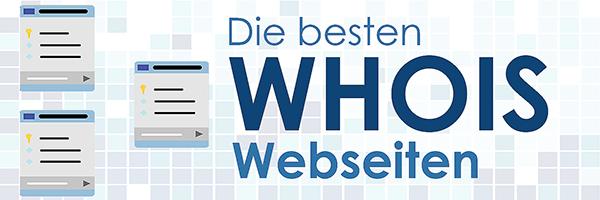 Die besten WHOIS Webseiten