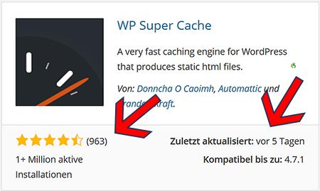 WordPress Plugins herunterladen