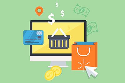 Mit einem Onlineshop kannst du im Internet Geld verdienen.