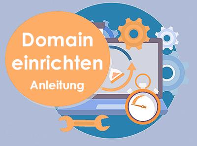Domain registrieren & einrichten