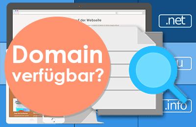 Anleitung zum Finden von Domains.